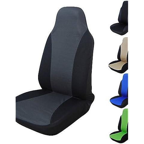 cubierta de asiento de coche autoyouth universal, compatible con la mayoría de los vehículos asiento cubre asiento accesorios de coche , green