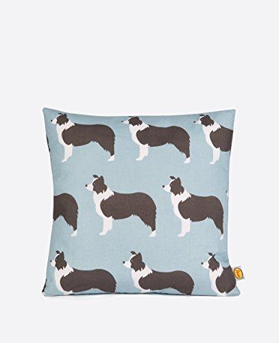 Anorak Border Collies Cotton Cushion