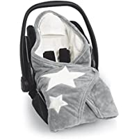Bemini by Baby Boum Couverture enveloppante hiver universelle et multi-usage BISIDE Softy STARY Grizou