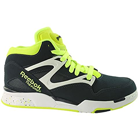 Reebok Pump Omni Lite (Dark Navy/Yellow/White) (9