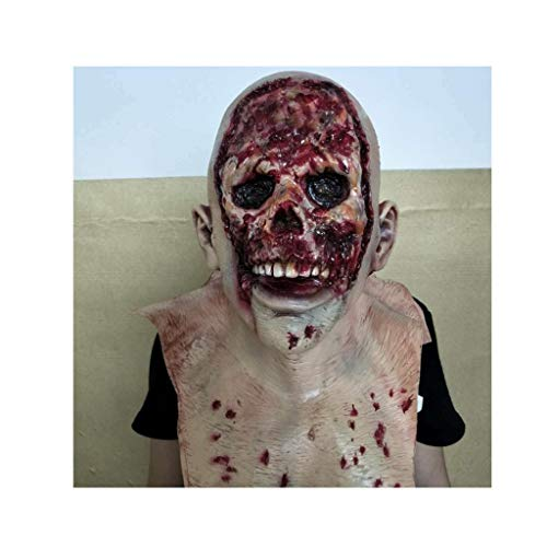 Sloth Kostüm Goonies Für Erwachsenen - Latex Maske (Neuheit Latex Gummi Creepy Horror Goonies Sloth Kopf Masken Gesicht schrecklich for Halloween Kostüm Party) One Size