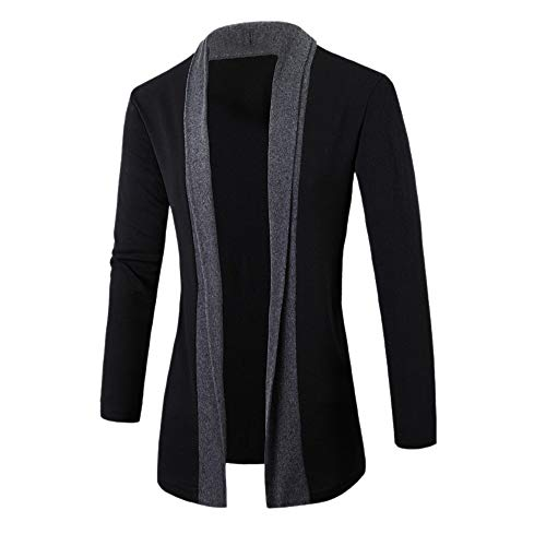 Luckycat Männer Casual Slim Fit Stricken V-Ausschnitt Strickjacke stilvolle Pullover Mantel Jacke Tops Mode 2018 -