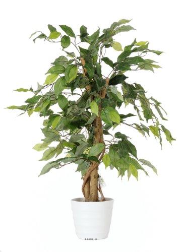 Artif-deco - Ficus artificiel abai h 80 cm 294 superbes feuilles qualite pro - choisissez votre taille: h 80 cm
