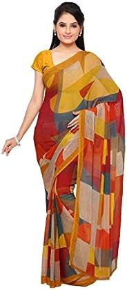 Vaamsi Women's Polyester Georgette Printed S