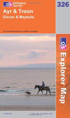 Ayr & Troon (Explorer Maps)