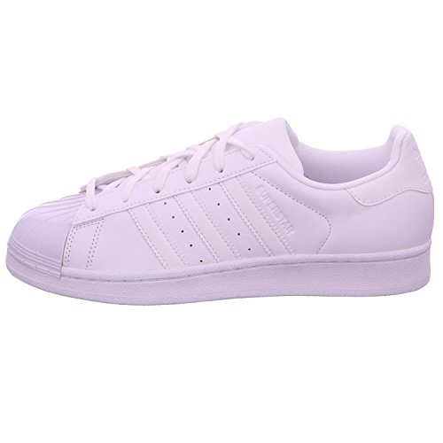 adidas Damen Superstar Glossy Basketballschuhe weiß