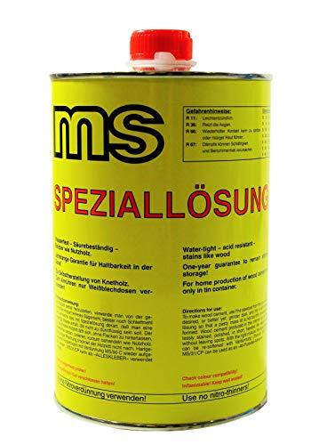 Holzkitt - Knetholz Speziallösung MS / 31 CP (Zur Selbstherstellung von Holzkitt)