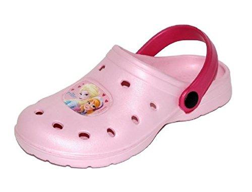 CROCS FROZEN Anna e Elsa Clogs scarpe zoccoli ciabatte mare Bambina Ultimo Disponibile 32 Rosa Disney