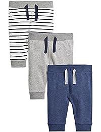 next Lot de trois pantalons de jogging (0 à 2ans) Standard Garçon Bébé
