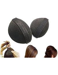 TININNA 2 piezas Accesorio de volumen para cabello,Encantador pelo Styler volumen Bouffant colmena Shaper Bumpits Bump up espuma estilizador de cabello Stick herramienta Magic Hair Base accesorios para el pelo