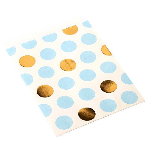 Neviti Pattern Works Bonbon-Tütchen, Punkte, Blau