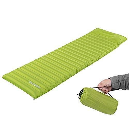Preisvergleich Produktbild NatureHike Naturehike Aufblasbare Airbed Matratze Zelt Air Mat Mit Kissen Camping Moisture-proof Pad Outdoor Schlafmatte (New Grass Green)