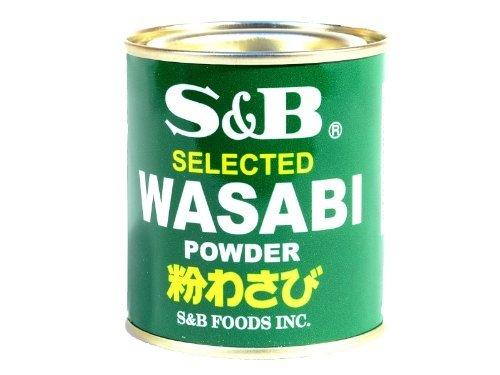 S&B – Wasabi Powder für Meerrettich Wasabi Paste – 30g