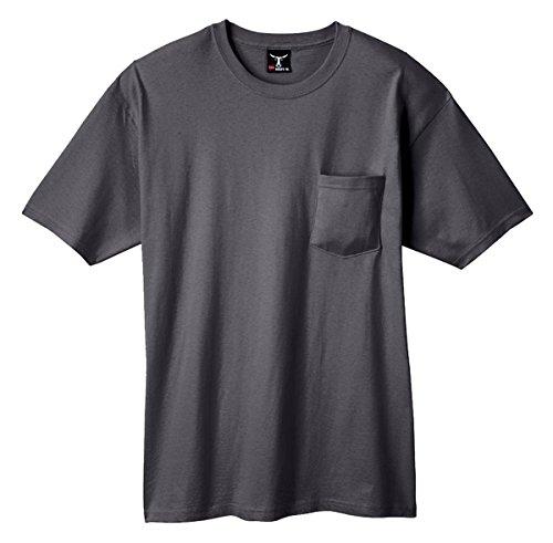Hanes Beefy-T Adult Pocket T-Shirt Smoke Gray