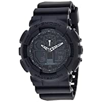 Casio G-Shock Men's Analog-Digital Dial Resin Watch - GA-100-1A1DR