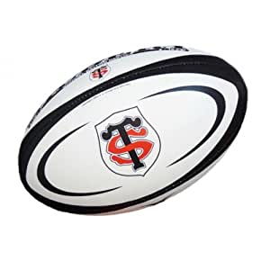 Ballon replica Gilbert Supporter - Collection officielle - STADE TOULOUSAIN - Rugby Club TOULOUSE - Top 14 - Taille 1