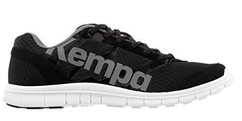 Kempa K-Float Zapatillas, Unisex Adulto, Negro/Antracita, 4.5 Kempa