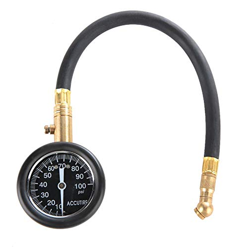 Metro portátil de la presión de neumáticos del indicador del inflador del neumático del barómetro...