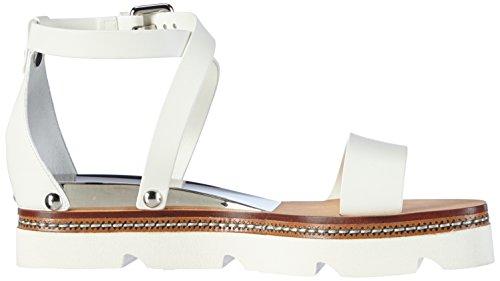 Casadei 1l780d, Sandales ouvertes femme Blanc - Weiß (AVORIO)