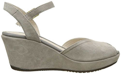 Stonefly Marlene Ii 1, Sandales Bout Ouvert Femme Gris (Taupe 423)