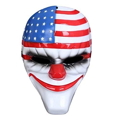 Máscara Payaso Terrorífico Payday 2. Complemento