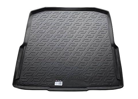 Tapis de coffre en caoutchouc (TPE) - Volkswagen Passat (B5 3B/3BG) Sedan (96-05)
