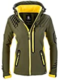 Rock Creek Damen Softshell Jacke Windbreaker Regenjacke Übergangsjacke...