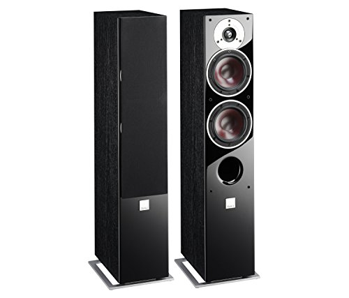 Pair of Dali Zensor 5 Black Ash Speakers