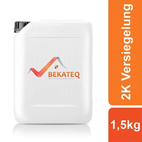 BEKATEQ 2K Epoxidharz Bodenversiegelung und -grundierung BK-400EP - 1,5KG