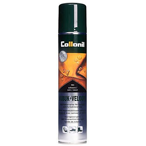 Collonil Nubuk Velours Spray Schuhpflege 200 ml Schwarz