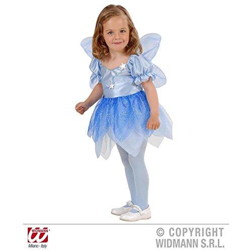 Super süßes blaues Fairy / Fee - Kostüm für Kinder ( Kleid und Flügel ) Gr. (Kostüm Kind Blaue Fee)