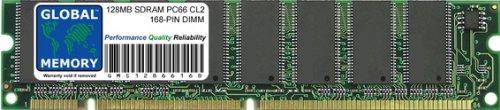 GLOBAL MEMORY 128MB PC66 66MHz 168-PIN SDRAM DIMM ARBEITSSPEICHER RAM FÜR PC DESKTOPS/MAINBOARDS -