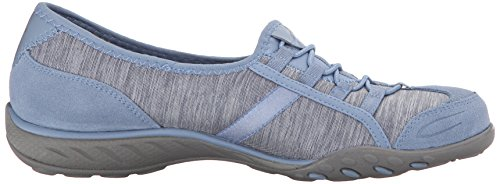 Skechers Breathe-Easy Good Life, Baskets Basses Femme blue