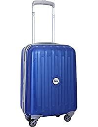 VIP Polypropylene 53 Cms Blue Hard Sided Suitcase & Trolley Bag