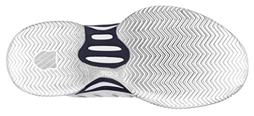K-SWISS EXPRESS LTR HB WHITE/NAVY Blanc/Marine