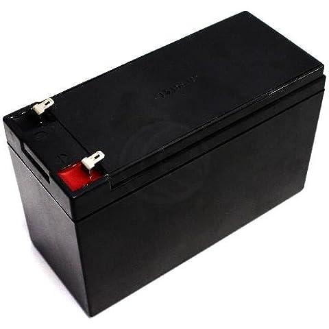 Batteria sigillata al piombo 12V 7Ah sostituzione UPS - Cablematic