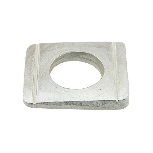 Scheibe DIN 434 Edelstahl A4 vierkant Neigung 8% keilförmig 9 - 50 Stück