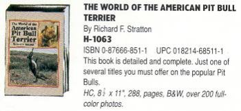 Tfh Buch Welt Amer Pit Bull -