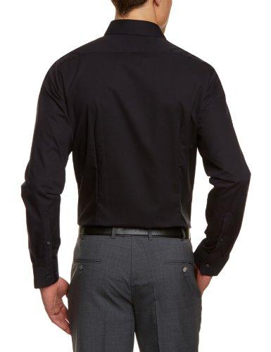 Schwarze Rose Kent - Chemisier - Coupe cintrée - Col Classique - Manches Longues - Homme Noir - Schwarz (schwarz 84)