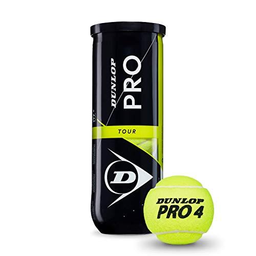 DUNLOP Pro Tour Bote 3 Pelotas Tenis