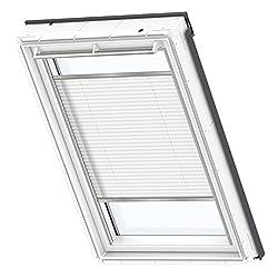 VELUX Original Plissee Dachfenster, MK06, Uni Weiß