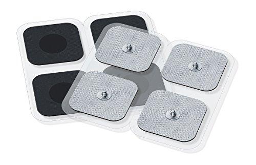 Sanitas selbstklebende Gel-Elektroden Pads, Nachkaufset, bestehend aus 8 Pads, passend für Sanitas EMS/TENS Geräte, 45 x 45 mm - 2