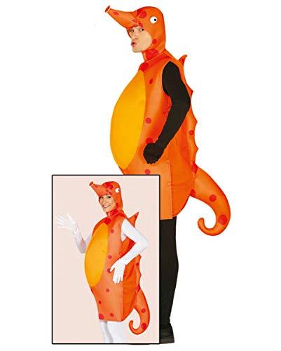 Horror-Shop Seepferdchen Kostüm für Erwachsene | Unisex (Lustige Meeresbewohner Kostüm)