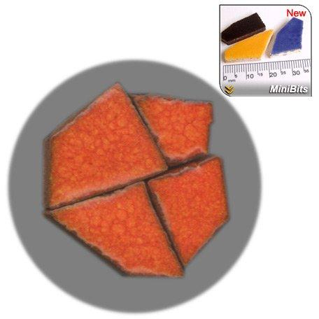 ALEA Mosaic MiniBits Mosaïque, 100g, Orangé rouge, RO02