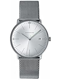 "Junghans ""Männern Max Bill 'Quarz Edelstahl Kleid Uhr, Farbe: silberfarbene (Modell: 041/4463.44) von Junghans"