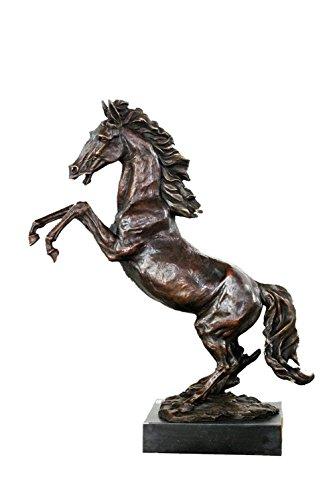 Toperkin Bronze Statuen Tier Skulpturen Pferd Collection Large Size Garten Statue TPAL-195