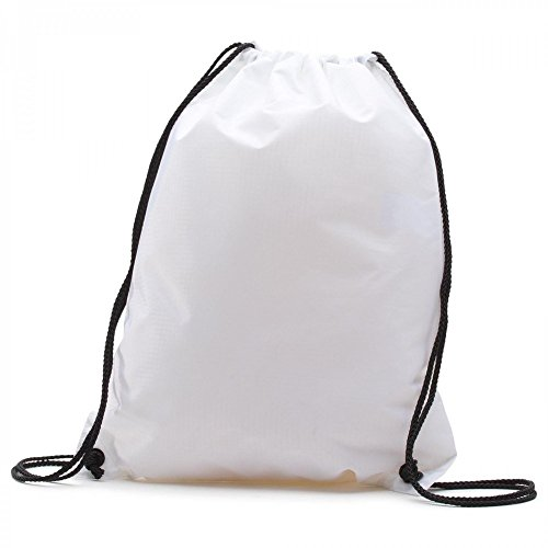 Vans League Bench, Sac à cordon Blanc (White)