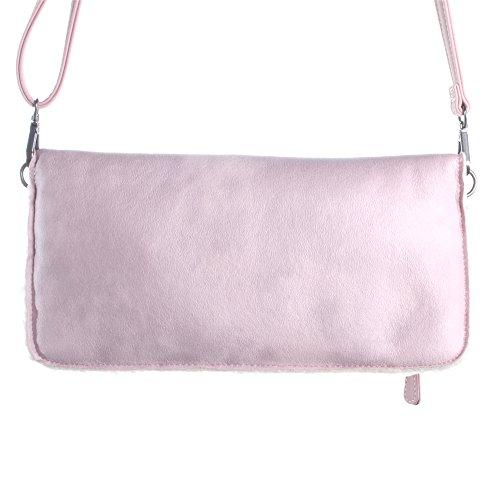 Fritzi aus Preußen Damen Ronja Yuko Business Tasche, 3x15x29 cm Beige (Rose)