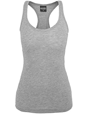 Urban Classics Ladies Jersey Tank Top, grey