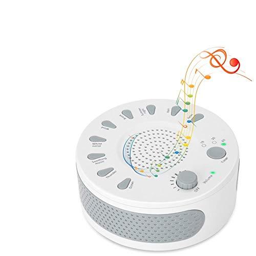 yuyte Schlaf-weiße Geräusch-Maschine, Geräusch-Schlaf entspannen Sich Klangtherapie-Spa-Baby-einfacher Schlaf-Entspannung beruhigende Hilfsmaschine (Entspannen Maschine)